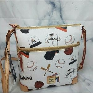 Dooney & Bourke MIAMI MARLIN Leather Crossbody Bag